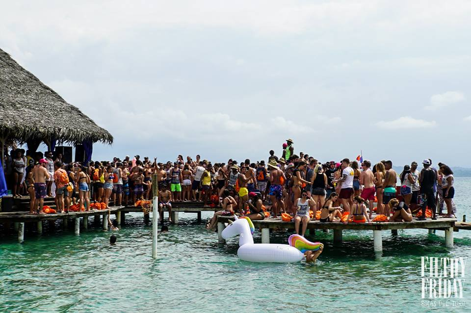 Filthy Friday Bachelor Parties in Bocas del Toro, Panama