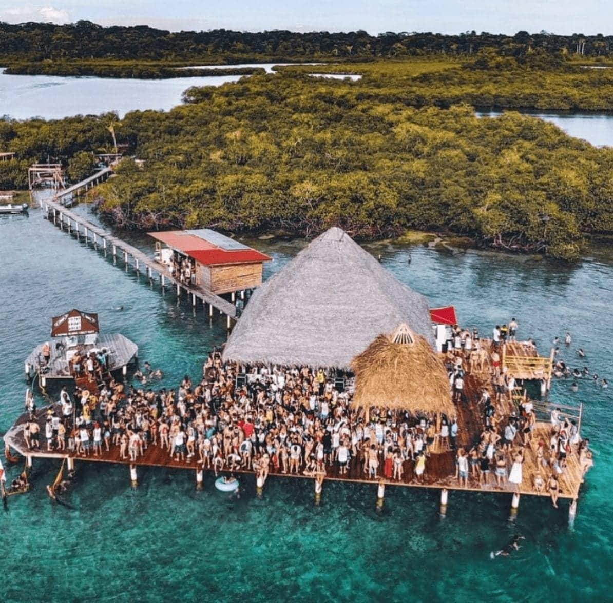Filthy Friday Bachelor Parties in Bocas del Toro, Panama